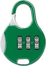MYBOON 1/7Piece 3 Cijfer Combinatie Hangslot Nummer Code Wachtwoord Beveiliging Reizen Veilig Lock Wachtwoord Lock Groen