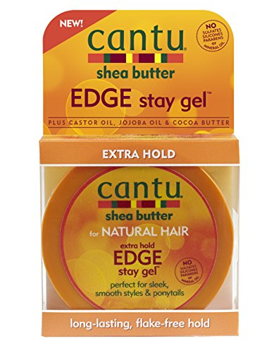 Cantu Shea Butter Extra Hold Edge Stay Gel 2.25 Ounce (66ml)