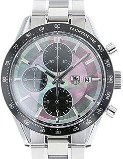 タグ・ホイヤー TAG HEUER カレラ クロノグラフ ブラックパール 日本限定600本限定 CV201K.BA0794 中古 腕時計 メンズ (W170924) [並行輸入品]
