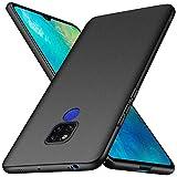 Huawei Mate 20 X Hülle, Anccer [Serie Matte] Elastische Schockabsorption & Ultra Thin Design für Huawei Mate 20 X (Kies Schwarz)