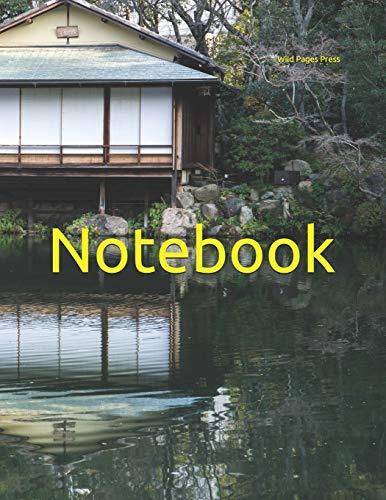 Notebook: Japan Japanese garden gardens Kobe lake house bonsai bonsais tree trees Nippon history