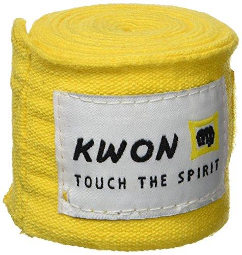 KWON Boxbandage Elastisch, gelb, 4053800