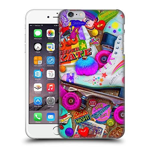 Head Case Designs Licenza Ufficiale Aimee Stewart Notte di Skate Dolciumi Colorati Cover Dura per Parte Posteriore Compatibile con Apple iPhone 6 Plus/iPhone 6s Plus