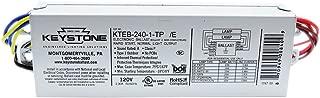 Keystone Two lamp T12 Rapid Start Electronic Ballast KTEB-240-1 /E