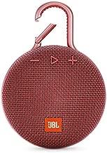 JBL CLIP 3 - Waterproof Portable Bluetooth Speaker - Red