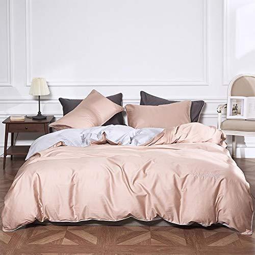 dfsgrfvf Bedding tribute zijde Beddengoed Set borduurwerk Bed Set champagne Bed Sheet Queen King Size Dekbedovertrek Set egyptisch katoen Bed Linnen-in Beddengoed Sets
