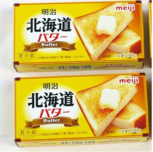 meiji Butter 明治 北海道バター 200g×2箱セット