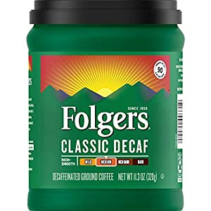 Folgers Decaf Medium Roast, 11.3 Ounces
