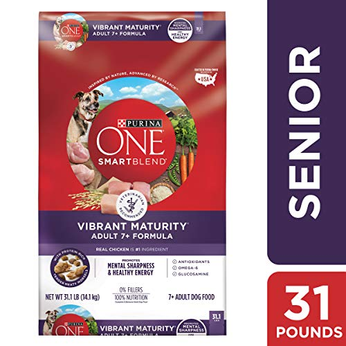 Purina ONE Senior Dry Dog Food, SmartBlend...