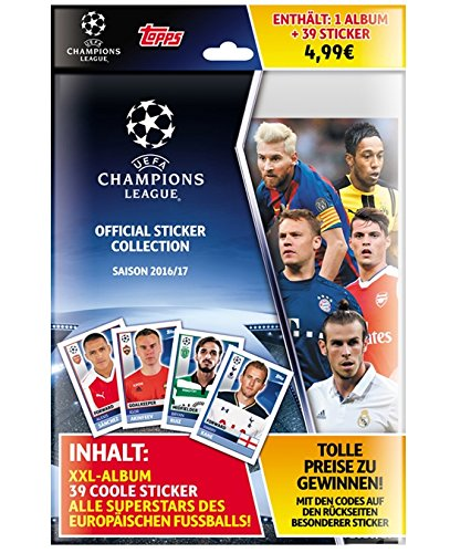 Topps - Champions League 2016/17 Parachoques - Starter Pack