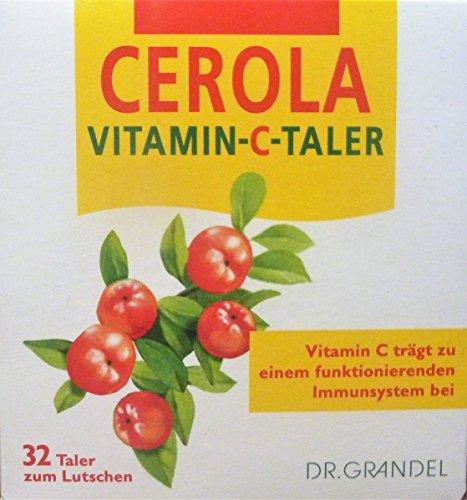 Dr. Grandel Cerola Vitamin-C-Taler, 2x32 Taler zum Lutschen