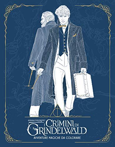 Avventure magiche da colorare. I crimini di Grindelwald. Animali fantastici