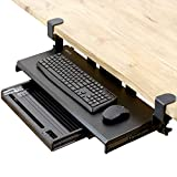 Best Keyboard Trays - VIVO Large Keyboard Tray Under Desk Pull Out Review