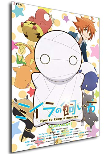 Instabuy Poster - Anime - Miira no Kaikata - How To Keep a Mummy A3 42x30