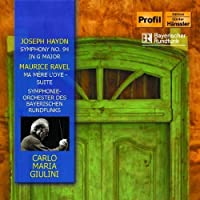 Symphony No 94 / Ma Mere L'Oye - Suite by RAVEL MAURICE / HAYDN F.J. (2006-04-18)