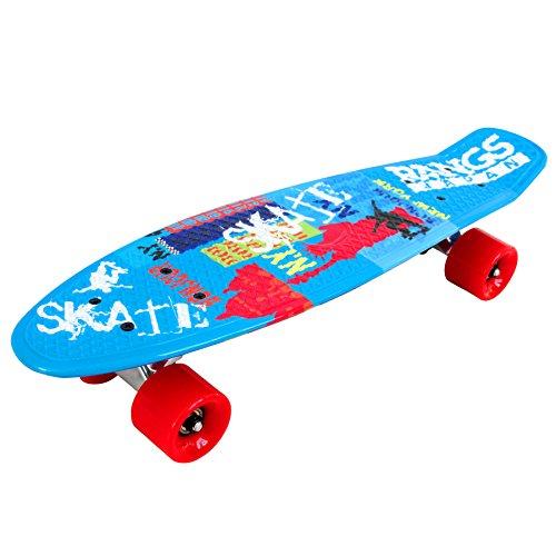 ラングスジャパン(RANGS) スケートボード ラングスR2ミニクルーザー ブルー 22インチ