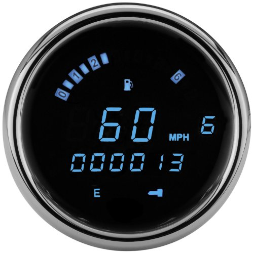 Dakota Digital MCL-3200 Series Direct Plug-In Speedometer/Tachometer - Blue LED MCL-3204