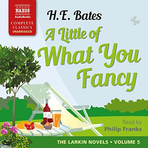 A Little of What You Fancy audiobook cover art