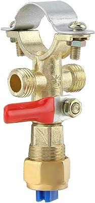 Rocker Arm Style Gold Tone Metal Lawn Sprayer Nozzle