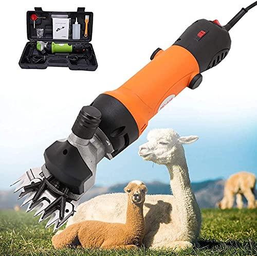 CFLDSG Cizallas de ovejas, Tijeras de Lana eléctrica de Velocidad Ajustable 690W,...