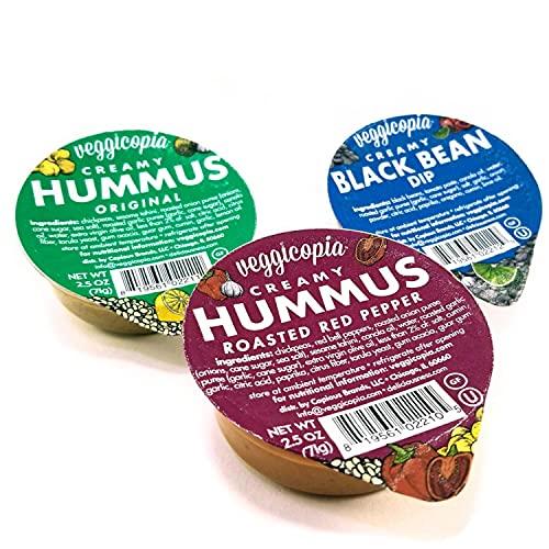 Veggicopia Creamy Dip & Hummus Variety Pack