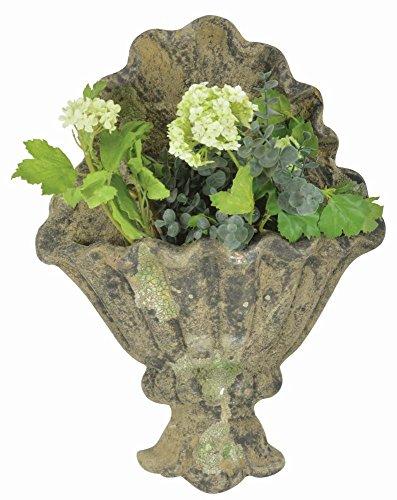 Esschert Design 3er Set Terracotta Pot Umtopf Gris Fleurs Plantes sur quelque