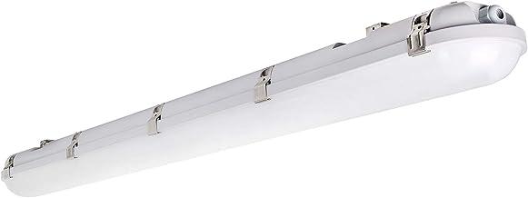 Waterproof IP65 for Garage Lighting Daylight White 2pack Walk in Freeze Warehouse 5000K LIGHTDOT 4FT LED Vapor Proof Light,50W 5500lm,Large Luminous Area Garage Tri-Proof Light Car Wash
