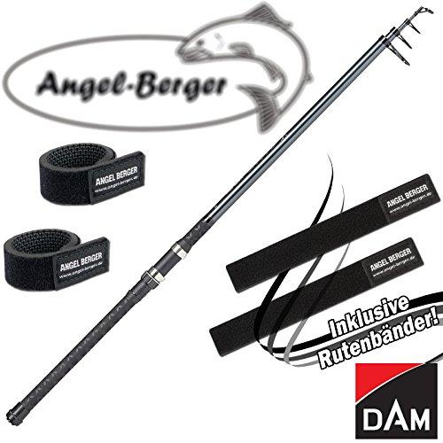 Angel-Berger Dam Camaro Tele Allround Teleskoprute Allroundrute alle Modelle Rutenband (3,00m / 50-100g)