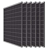 Renogy 6pcs 320 Watt Monocrystalline Solar Panel System Kit Off Grid for Shed Farm, Home, Residential, Commercial House, 320W, 6...