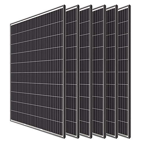 Renogy 6pcs 320 Watt Monocrystalline Solar Panel...