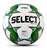 SELECT 2019/2020 Royale Soccer Ball, White/Green, Size 5