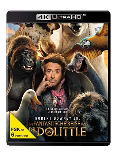 Die fantastische Reise des Dr. Dolittle (4K Ultra HD) (+ Blu-ray 2D)