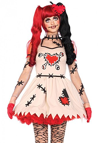 Leg Avenue Damen-Kostüm Voodoo Cutie, Größe:S