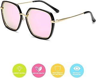 子供のサングラスファッション偏光メガネ金属多角形フレーム紫外線保護屋外保護男の子の女の子安全、健康で快適