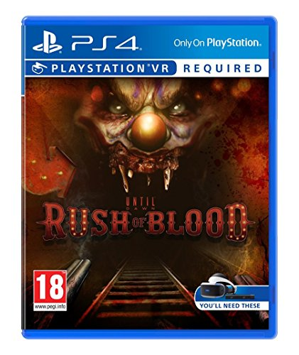 Sony Until Dawn: Rush of Blood VR, PS4 - video games (PS4, PlayStation 4, Physical media, Shooter / Horror, Supermassive Games, 13/10/2016, ESP)