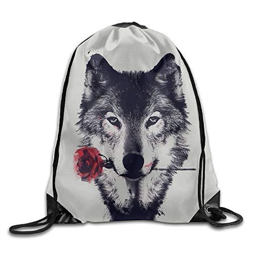 Jiger Gym Sack Bag Flower Garden Stem Drawstring Backpack Sport Bag for Men & Women School Travel Backpack