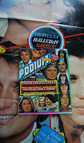 PODIUM n° 86 Claude FRANCOIS SHEILA RINGO Olivia Newton John - Posters voir détail - 1979 04
