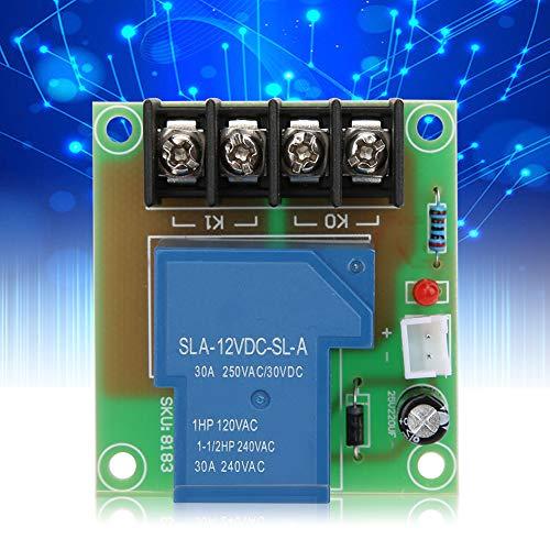 Stromschalter-Relaismodul, XH-M138 Hochstromschalter-Adapter-Relaisplatine 12-V-Eingangsschaltersteuerung 30A Ausgang für industrielle elektronische Komponenten