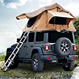 SUNWEII Truck Bed Tent 8ft Pickup Truck Tent for Full Size Truck Sunroof Tent with Rainfly, Ladder and Storage Bag,Rooftop Tents for Camping 3-4 Person Sleeping Capacity
