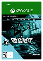 Tony Hawk's Pro Skater 1 + 2 Game The Ripper' character from Powell-Peralta - the iconic skeleton makes its debut in Tony Hawk's Pro Skater and comes with its own secret tricks and boards Unique retro 80s-era outfits for Tony Hawk, Steve Caballero an...