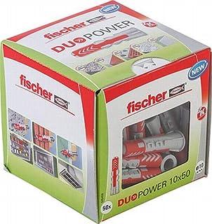 Fischer Duo Power universele pluggen, afmeting 10 x 50 mm, VE = 50 stuks,