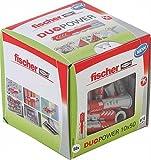 Fischer Duopower 10X50 Diy/ (Caja Brico de 50 Uds), 535456, gris