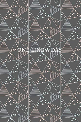 One line a day: A Memory Book (Daily Journal, Mindfulness Journal, Memory Books, Daily Reflections Book)