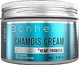 BCNHEMP Chamois Creme gegen Wundscheuern, Hautpflege für Fahrrad Fahren, Sportcreme Hanf infundiert, entzündungshemmend für Sportlerinnen, Radfahrer und Wanderer