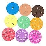 yotijar 51pcs / Set Fracciones Circulares