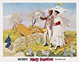 Mary Poppins–Póster de la película (11x 14Inches–28cm x 36cm) (1964) (estilo E) por decorativo pared Póster