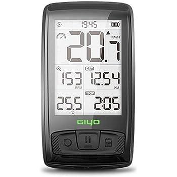 FOONEE Ciclocomputadores Ciclismo, 800mAh Inalámbrico Impermeable Ordenador Bicicleta, Gran HD Pantalla LCD Retroiluminación Cuentakilómetros Bici,Batería hasta 120 Horas: Amazon.es: Electrónica