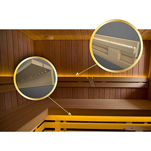 Leds Set Saunabeleuchtung, Streifen wasserdicht ip68. 60led/m (4 m)