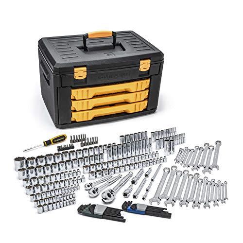 pc mechanics GEARWRENCH 239 Pc. Mechanics Tool Set in 3 Drawer Storage Box - 80942