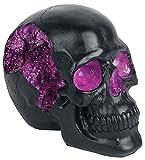 Nemesis Now Geode Skull - Figura Decorativa (Resina, 17 cm), Color Negro